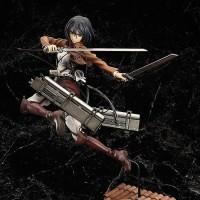 Action Figure PVC Mikasa Ackerman Anime Attack On Titan Max Factory