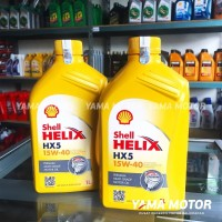 OLI MESIN SHELL HELIX HX5 15W-40 1L