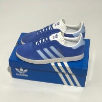 Sepatu Casual Adidas Gazelle Blue Blue White Original 100% BNIB!