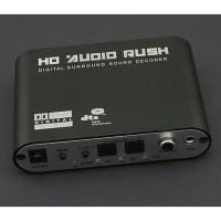 Original Hd Audio Rush Dolby Decoder to Active Speaker 5.1 Converter