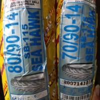 paket ban Swallow ukuran 70/90-14 & 80/90-14 Seahawk Non tubeless