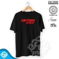 Kaos Baju Racing Daytona Otomotif Mobil Motor Sablon Distro Cotton