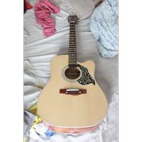 Gitar AKUSTIK F500 Sungkai suara Nyaring buat nyanyi bareng