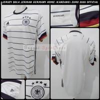 Jersey Jerman Home Kit 2020-2021-2022-dst New Baju Bola Germany euro21