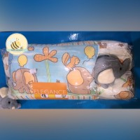 ELEGANCE Bantal Bayi 3 in 1 Free Boneka Gajah