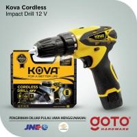 KOVA Mesin Bor Baterai Tangan Cordless Drill 12V