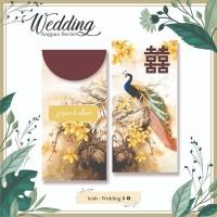 Angpao Custom Nama Wedding Pernikahan Amplop Uang Murah Motif burung