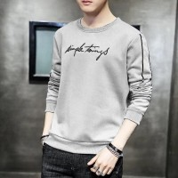 Promo Termurah Atasan Lengan Panjang Simple Kaos Pria 0037