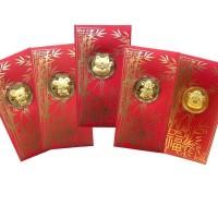 HOT SALE Angpao emas 24 karat| amplop imlek 2020 TERJAMIN