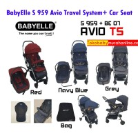 BabyElle S 959/07 Avio Travel System / Stroller + Car Seat