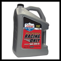 Promo Lucas Synthetic Sae 20W-50 Racing Motor Oil Oli Racing Zinc