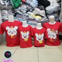 Promo Baju Imlek Keluarga Kode 7779 - Kaos Couple Sincia Family