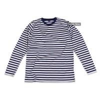 Baju pria | Baju Wanita | Kaos belang panjang warna navy