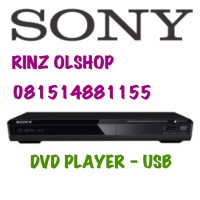 Dvp-sr370 Sony Dvd Player Sr370 Usb Movie Dvpsr370 New