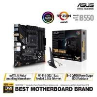 ASUS TUF Gaming B550M-Plus WiFi AMD AM4 B550 Micro ATX Motherboard