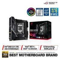 ASUS ROG Strix B460-I Gaming Intel B460 LGA 1200 Mini ITX Motherboard