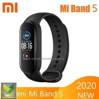 Jam Pintar Xiaomi Mi Band 5 Miband 5 Smartwatch Smartband Hitam