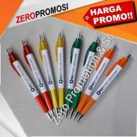 Jual pen karinex sablon 1 warna 1 sisi