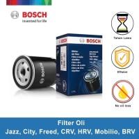 BOSCH Filter Oli Honda Jazz,City,Freed,CRV,HRV,Mobilio,BRV- 0986AF0126