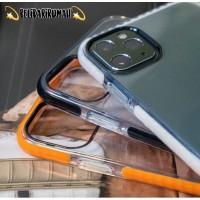 Case iPhone Softcase Bumper Classic Casing Iphone 11/11Pro/11Promax - Putih, 11Pro