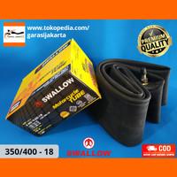 BAN DALAM MOTOR SWALLOW UKURAN 350/400-18 350/400 RING 18