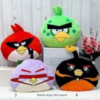 ` Bantal Boneka Angry Bird Yelvo Lembut bantal kursi burung mobil