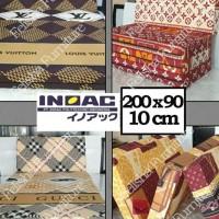 Ready Stock Kasur Busa Lipat Inoac 200 X 90 X 10Cm Bergaransi Promo