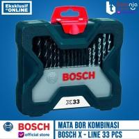 Mata Bor Kombinasi X-line Set 33 pcs Bosch