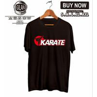 Kaos Baju Karate Logo Sport - Gilan Cloth
