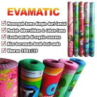 Evamatic Matras Karpet Alas Tikar Lantai Eva 120x200 Motif Karakter