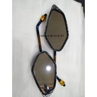 Spion Yamaha Jupiter Karbon / Carbon Twotone  free Drat honda yamaha