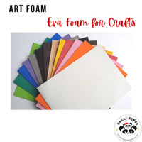 Art foam eva foam busa craft - tebal 2mm - ukuran lebih dari 20x30cm