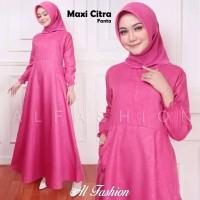 baju wanita dewasa lengan panjang fashion gamis syar'i cewek muslim
