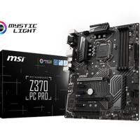 silahkan MSI Z370 PC PRO (LGA 1151,Z370,DDR4) Support Coffee
