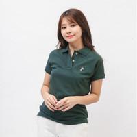 Benelux Polo Shirt Wanita Army Green