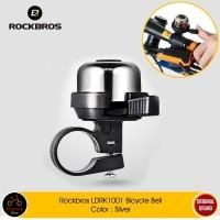 ROCKBROS LDRK1001 Bicycle Bell - Bel Sepeda Lipat MTB Silver