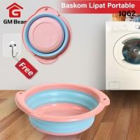 GM Bear Baskom Lipat Portable- Ember lipat portable