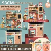 Kitchen Set toys mainan masak masakan spraying Jumbo 93 CM Premium NEW
