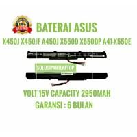 BATERAI ASUS X450J X450JF A450J X550D X550DP A41-X550E ORI