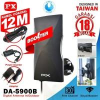 PX DA-5900 5900B Antena TV Digital Indoor Outdoor - GARANSI 18 BULAN