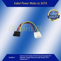 Kabel Power SATA Cable Wire Cord 4p IDE to Serial ATA Harddisk SSD Dll