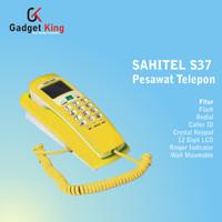 Sahitel S37 Pesawat Telepon Kabel Dinding Rumah Kantor Indihome - KNG