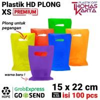 Kantong Plastik HD Plong 15x22 CM Shopping Bag Online Shop Pilih warna
