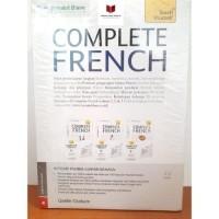 Buku Bahasa Perancis Paket Complete French Volume 1,2 dan 3 plus 3 CD