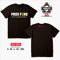 Kaos Baju Game Free Fire Battleground Kaos Game - Karimake