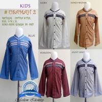 Baju Koko Anak Remaja , Baju Koko Anak Tanggung SD, SMP Style Abbas