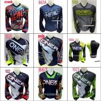 Baju JERSEY Kaos Pakaian Olahraga Sepeda Balap Motor Hangout Santai