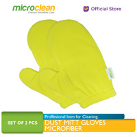 MICROCLEAN Dust Mitt Gloves Microfiber Dust Cloth Hand Mitten Lap Debu