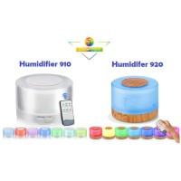 Air Humidifier Diffuser 7 Color 500ml + Remote Control Aroma Terapi