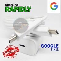 Charger Carger Cas Google Pixel 2 - 3 - 4 XL Rapid Charging Original